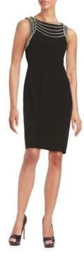 Decode 1.8 Embellished Solid Dress