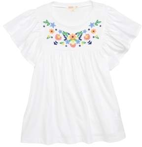 J.Crew crewcuts by Embroidered Bell Sleeve Tee