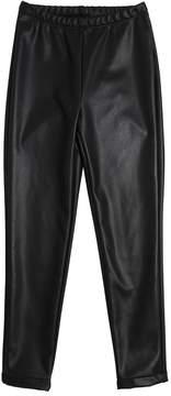 MonnaLisa Stretch Faux Leather Leggings