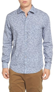 BOSS ORANGE Men's Print Woven Shirt