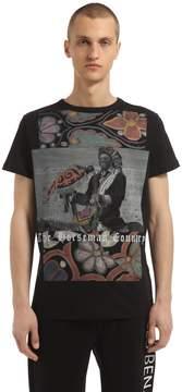 Les Benjamins Samuel L. Jackson Printed Cotton T-Shirt