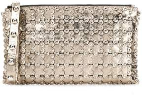RED Valentino RED(V) Flower Puzzle clutch