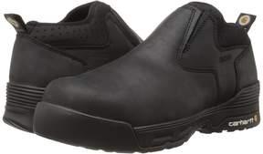 Carhartt 4 Inch Black Waterproof Slip-On Men's Waterproof Boots