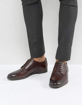 H By Hudson Hicken Lace Up Shoes In Brown
