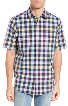 Rodd & Gunn Men's Rotherham Regular Fit Check Sport Shirt