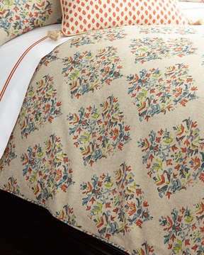Neiman Marcus Lacefield Designs Queen Blythe Duvet Cover