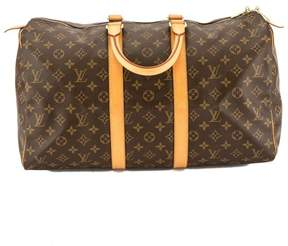 Louis Vuitton Monogram Canvas Keepall 45 Boston Bag