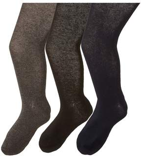 Jefferies Socks Seamless Organic Tight Three Pack Hose