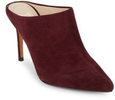 Marc Fisher Mltiffy Leather Mule Shoes