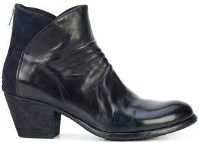 Officine Creative two tone ankle boots