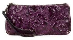 Patricia Nash St. Croce Leather Wristlet