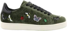Moa Bugs Velvet Sneakers