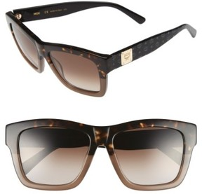 MCM Women's 56Mm Retro Sunglasses - Tortoise/ Turtle Dove