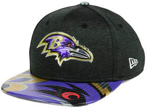 New Era Boys' Baltimore Ravens 2017 Draft 9FIFTY Snapback Cap