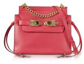 Roberto Cavalli Women's Red Leather Shoulder Bag