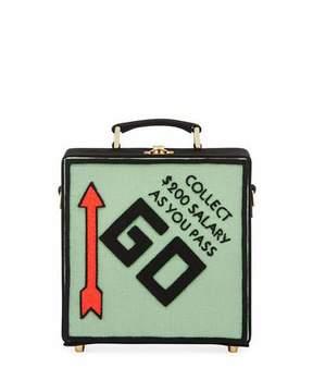 Olympia Le-Tan Pass Go Monopoly Box Shoulder Bag