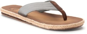 Dockers Men's Espadrille Flip-Flop Sandals