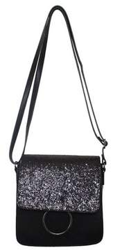 T-Shirt & Jeans Sparkle Flap Crossbody Bag