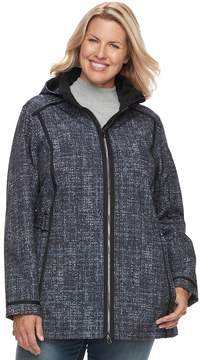 Free Country Plus Size Hooded Soft Shell Jacket