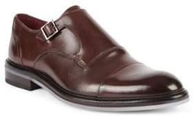 Ted Baker Formal Leather Monk-Strap Oxfords