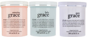 philosophy Mega Grace Whipped Body Creme Trio