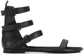 Ann Demeulemeester Vitello Lavato sandals