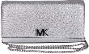 Michael Kors Metallic Shoulder Bag - SILVER - STYLE
