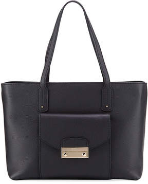 Furla Julia Medium Pebbled Leather Tote Bag