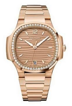 Patek Philippe Nautilus Rose Gold Ladies Watch Ladies
