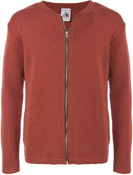 S.N.S. Herning zipped fitted sweatshirt