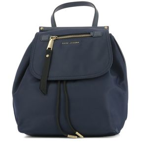 Marc Jacobs Blue Fabric Rucksack - BLUE - STYLE