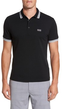 BOSS GREEN Men's 'Basic' Pique Golf Polo