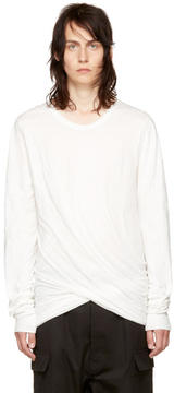 Rick Owens Off-White Long Sleeve Double T-Shirt