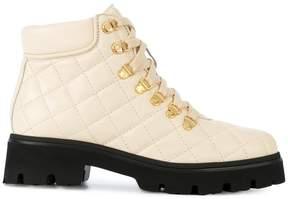 Baldinini contrast sole ankle boots