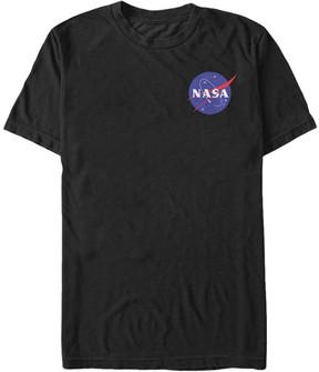 Fifth Sun Black NASA Small Logo Tee - Men