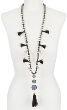 Anna & Ava Tassel Necklace