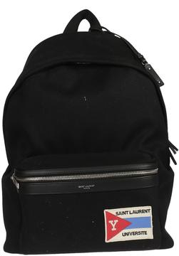 Saint Laurent Logo Backpack