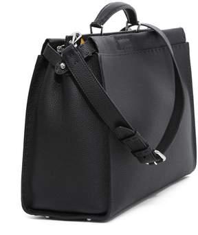 Fendi Peekaboo Handbag In Roman Leather