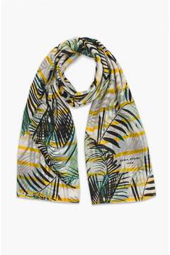 Sonia Rykiel | Cotton And Silk Palm Print Scarf