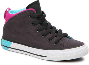 Converse Girls Chuck Taylor All Star Official Toddler & Youth Mid