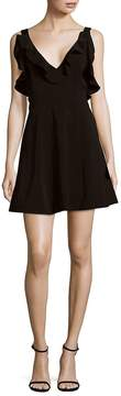 Keepsake Women's Alluring Ruffled Mini Dress