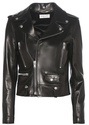 Saint Laurent Classic L01 Love Patch leather jacket
