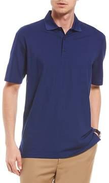 Daniel Cremieux Signature Pique Short-Sleeve Performance Polo Shirt