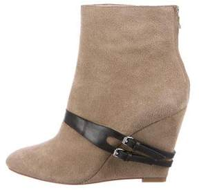 Elizabeth and James Reily Wedge Ankle Boots