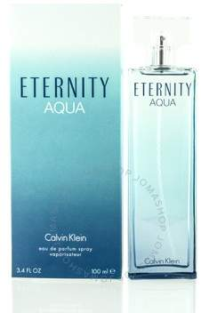 Calvin Klein Eternity Aqua by EDP Spray 3.4 oz (w)