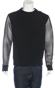 Christopher Raeburn Mesh-Trimmed Sweatshirt
