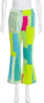 Christian Lacroix Mid-Rise Wide-Leg Jeans