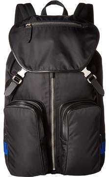 Neil Barrett Nylon/Leather Backpack Backpack Bags