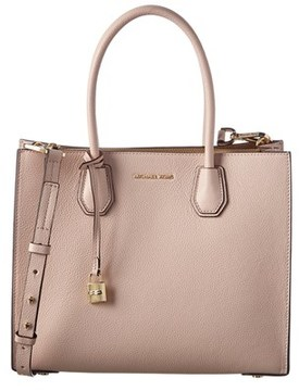 MICHAEL Michael Kors Mercer Large Convertible Tote. - PINK - STYLE