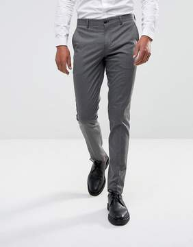 Selected Skinny Smart Pants In Dogstooth